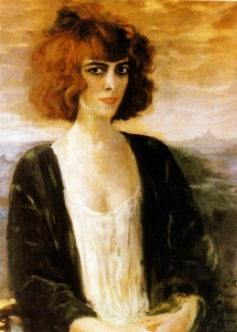 Portrait of Casati by Augustus Edwin John, 1919