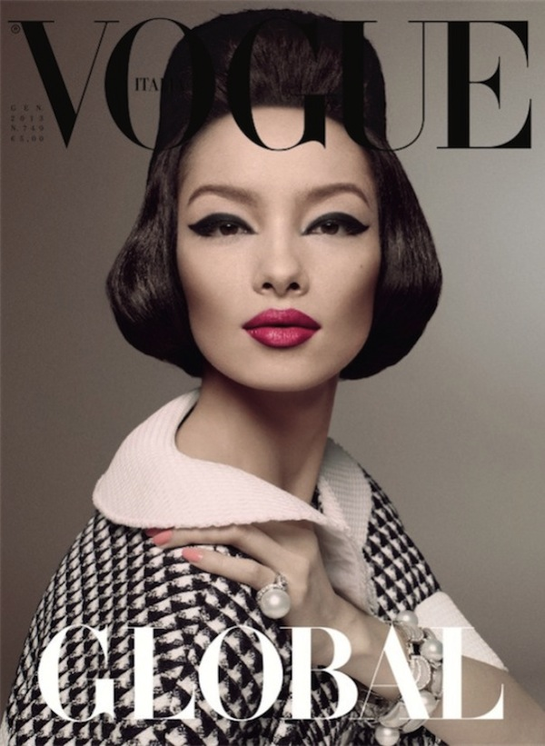 This Month in Fashion History: Vogue Italia's January 2013 Cover ...