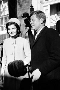 Kennedy's inauguration, January 20, 1961