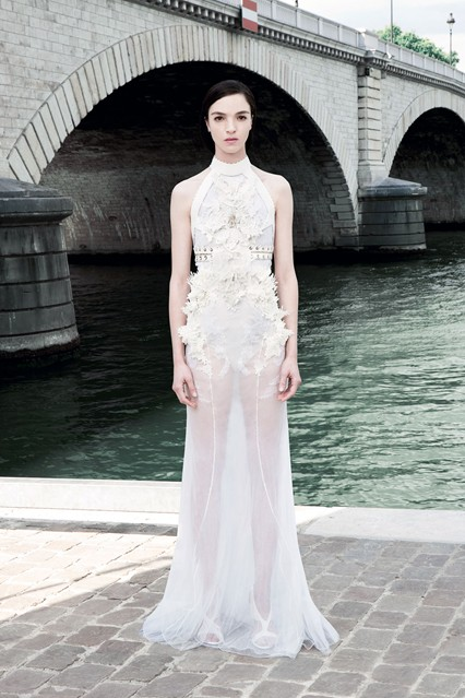 Ricardo Tissci for Givenchy, Autumn/Winter Couture 2011/2012.  Image via Vogue.com