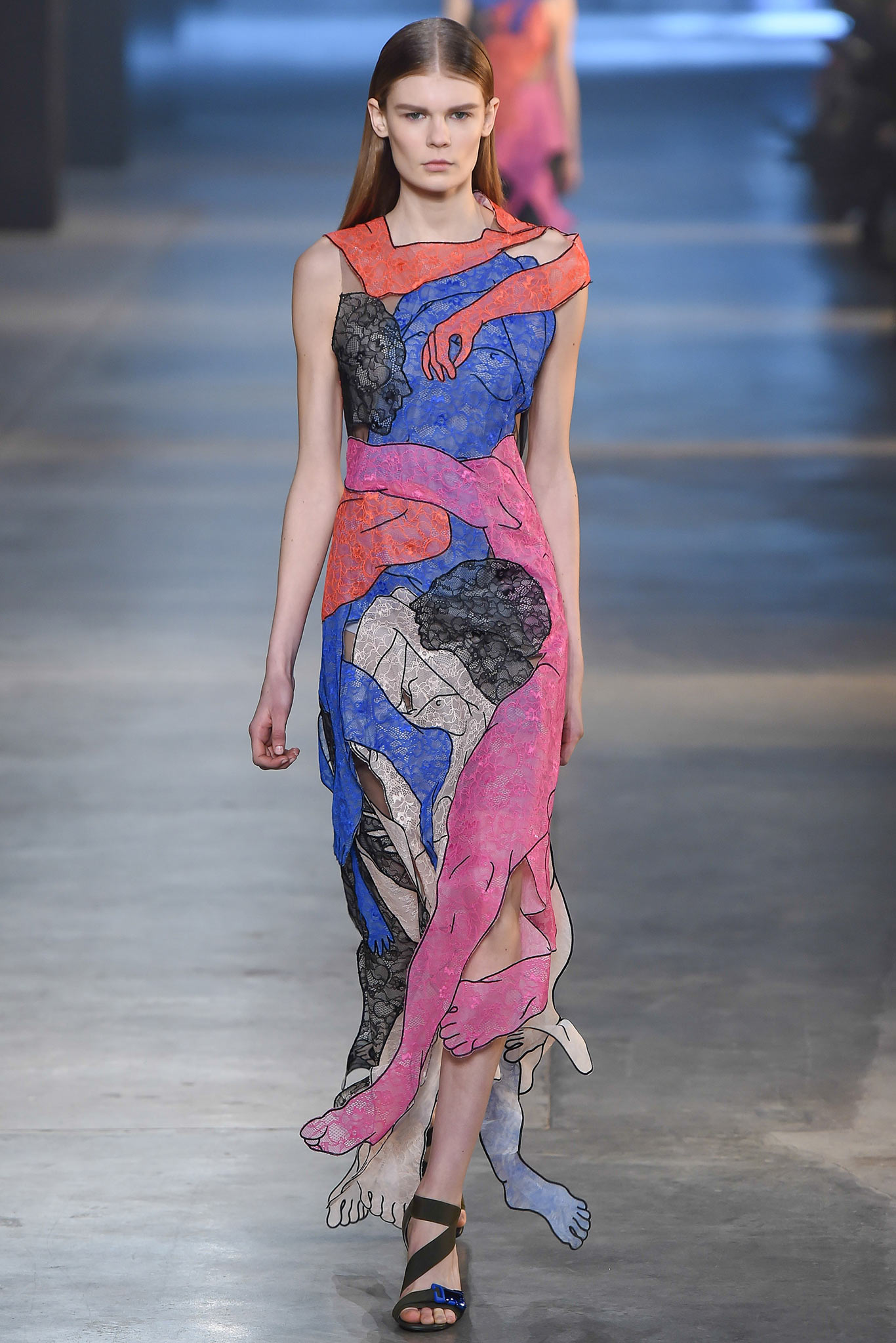 Christopher kane fall / winter collection - london fashion week
