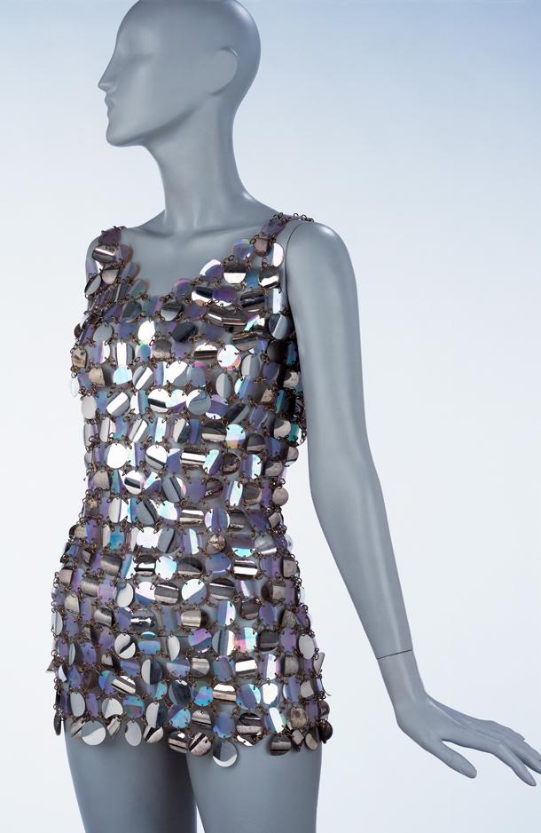 Metal Dresses Fashion Show