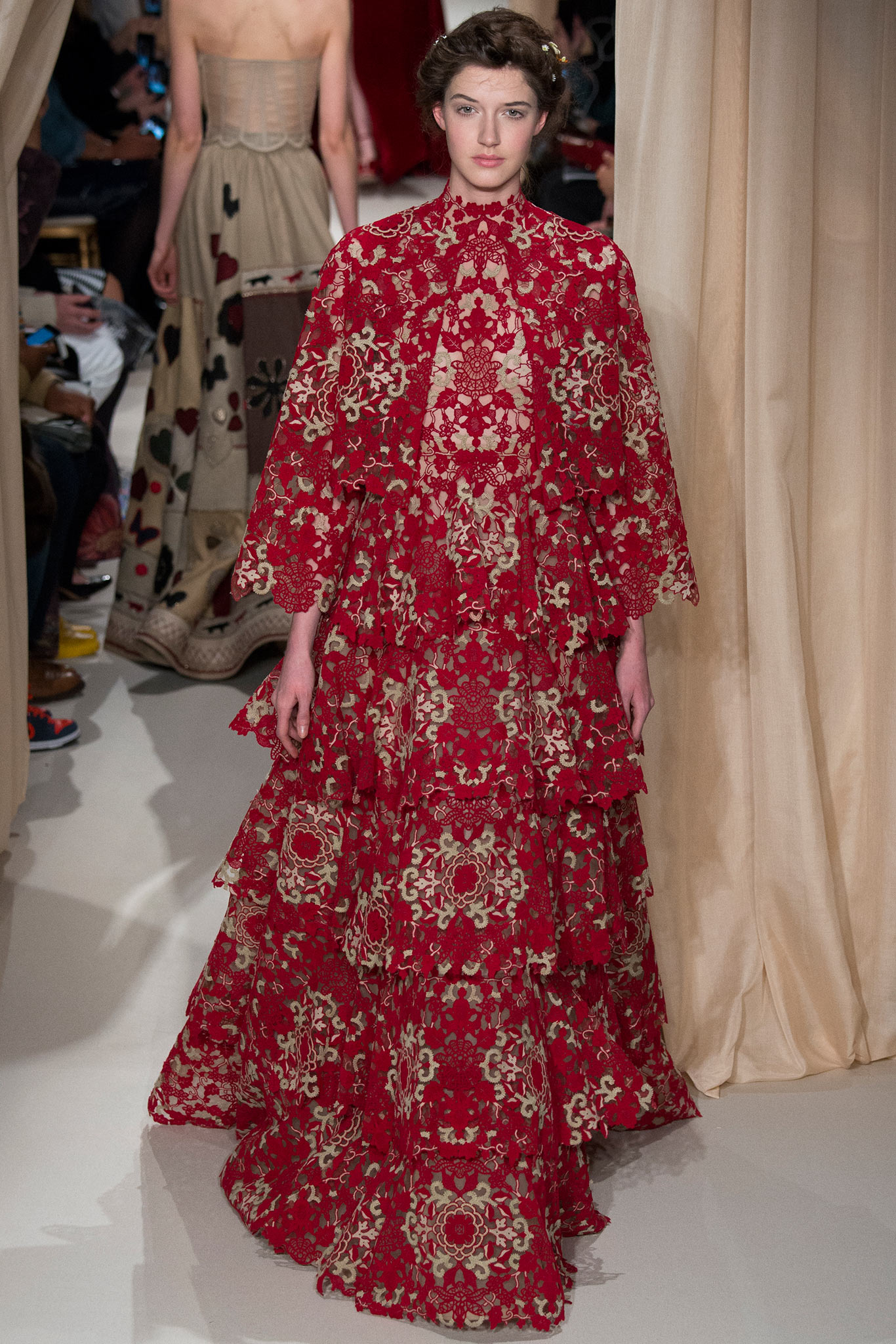Re-Visiting The Art Of Valentino's Spring 2015 Couture