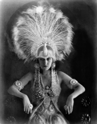 Photograph by Karl Struss of Gloria Swanson as Lady Mary Lasenby in Male and Female, 1919, photo via Paramount Pictures.