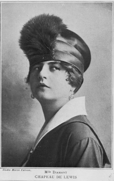 The harsh realities of war brought more subdued styles into fashion, continuing the trend towards small hats. While feathers were still used, they would never again reach the decorative glory they received in the pre-war years, a result of both the whims of fashion and strides made by wildlife activists to protect endangered species.