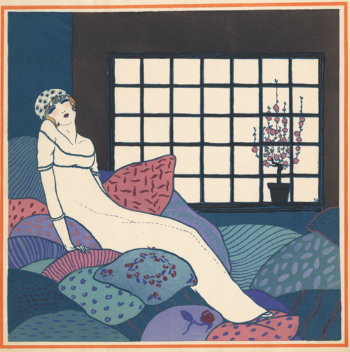Les Choses de Paul Poiret vue Georges Lepape, 1911.