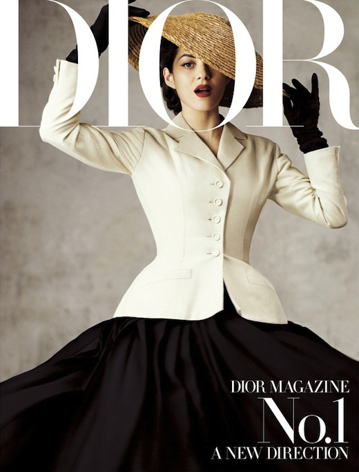 Marion+Cotillard+Dior+Magazine+First+Issue+1