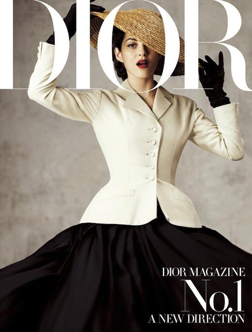 Marion+Cotillard+Dior+Magazine+First+Issue+1