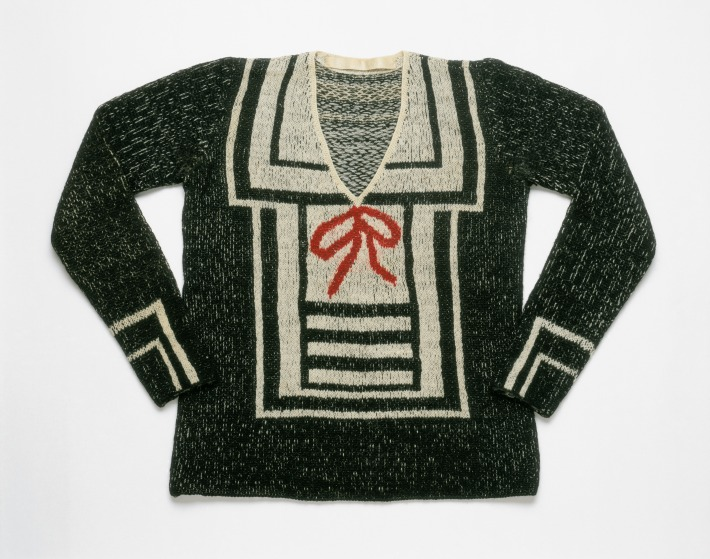Woman's Sweater, 1928 (hand-knitted wool)
