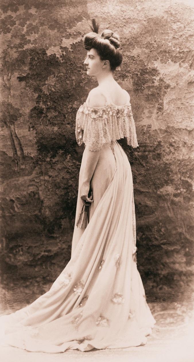 Edith Vanderbilt - 1800s - Portrait - BiltmoreArchives