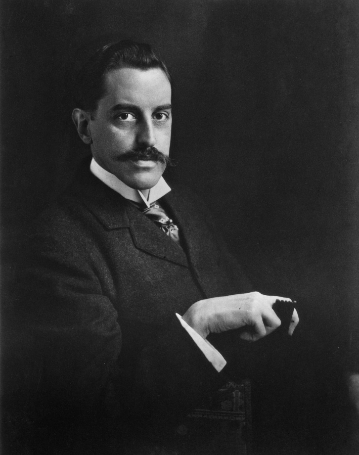 George Vanderbilt II - Portrait - BiltmoreArchives