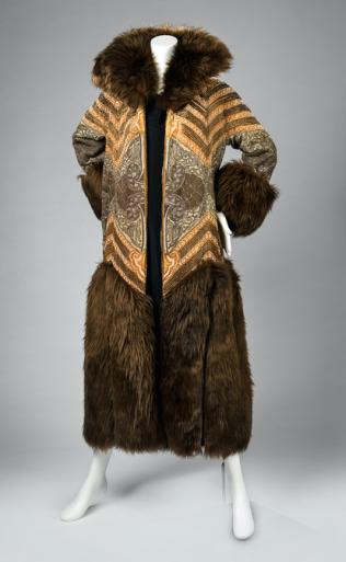 Poiret coat, RISD